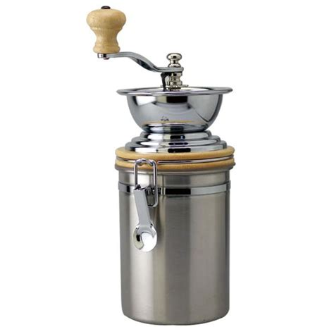 Coffee Grinder Manual 99002 manual coffee grinder with s s container 24oz