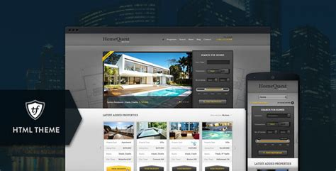 20 best responsive real estate templates designmaz