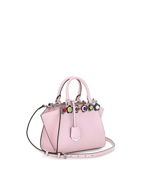 Fendi 3jours Stud Set Seprem fendi 3jours mini floral stud tote bag soft pink multi