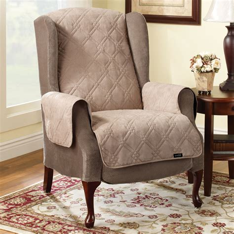 Sure fit slipcovers pet throw quilted recliner cover atg stores