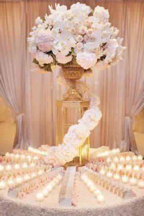 Blush   Gold dream wedding   Escort card table   Think