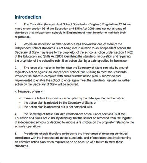 regulatory plan template images templates design ideas