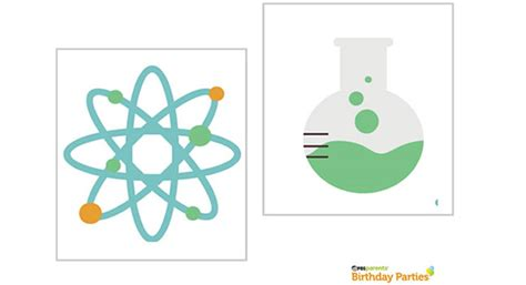 printable science party decorations science party printables birthday parties