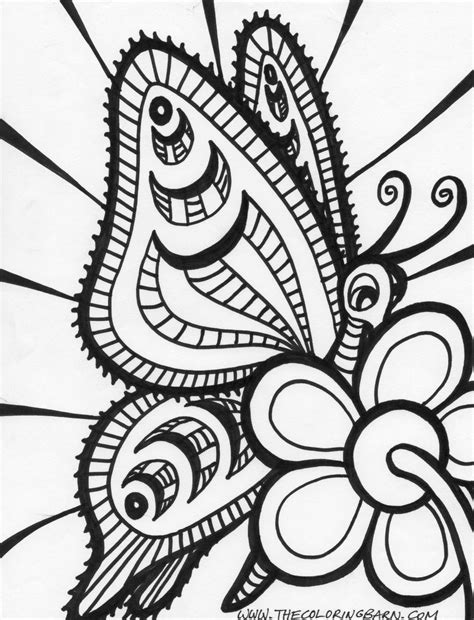 Free Printable Abstract Coloring Pages For Adults free coloring pages of complicated ones