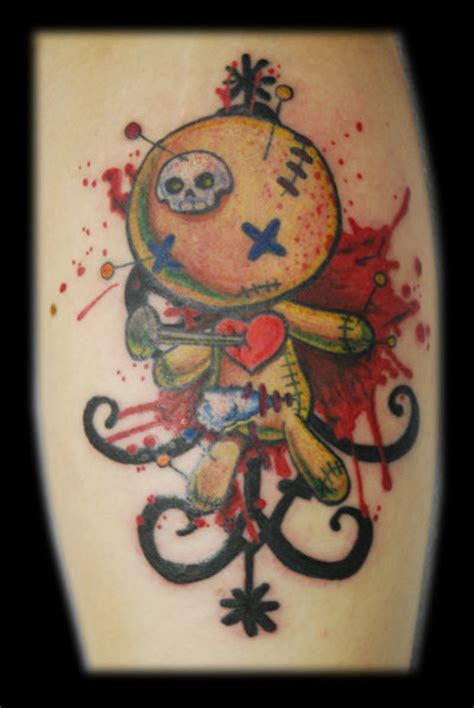 voodoo doll tattoos doll tattoos lawas