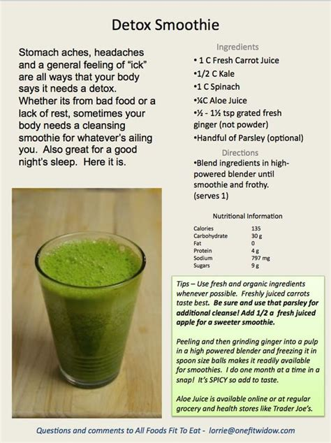 Detox Excess Protein by Detox Smoothie And Detox Smoothies On