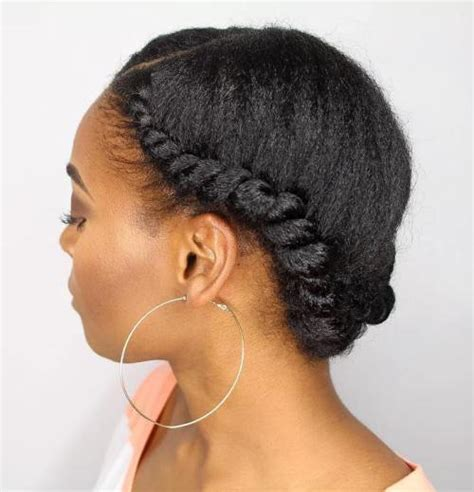 african american braids with bun with headbands 6 cool ways to style your natural hair this weekend