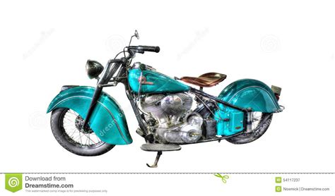 white motorbike isolated indian motorcycle on a white background editorial