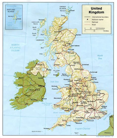 map of britain and europe map of the united kingdom