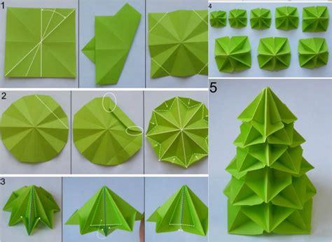 pliage serviette papier sapin 15 origami weihnachten