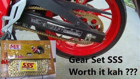 Gear Set Sss Cb150r 06 pasang gear set sss di all new cb150r worth it gak