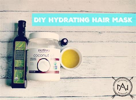 Easy Diy Moisturizing Hair Mask The Happier Homemaker 1000 Ideas About Hydrating Hair Mask On Hair Masks Argan Hair And Split Ends