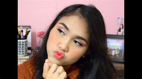 tutorial make up korea bahasa indonesia flawless korean makeup korean wavy hair tutorial ft