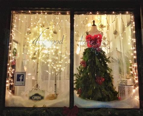 ideas for christmas shop window display day dreaming and