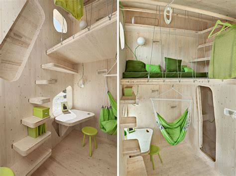 smarter small home design kit micro housing for students by tengbom architects