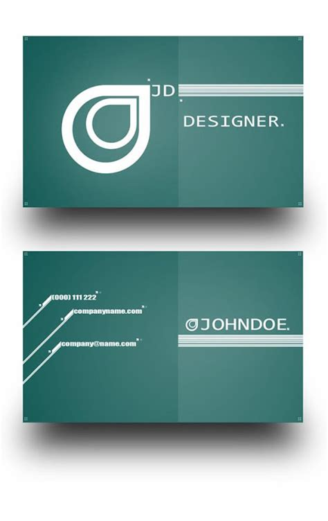 best business card templates 43 best free business card templates jayce o yesta