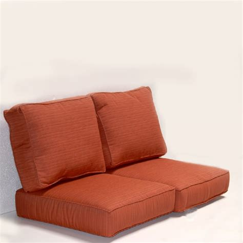 fresh outdoor loveseat glider replacement cushions 23793