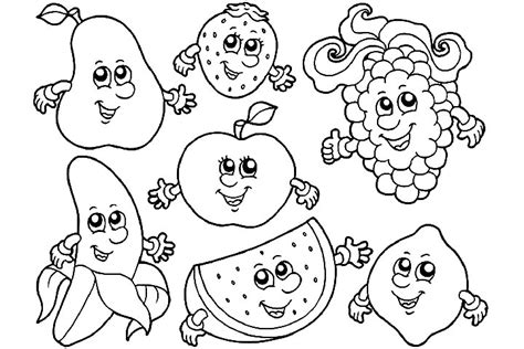 coloring pages of food with faces food with faces coloring pages pictures to pin on