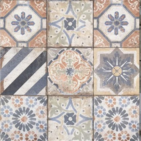 tesoro havana finca deco mix tile stone colors