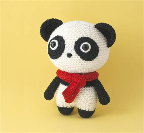 amigurumi panda momo the panda amigurumi pattern amigurumipatterns