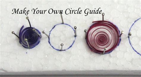 How To Make Your Own Quilling Paper - make your own circle sizing guide for paper quilling