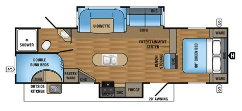 jayco cer floor plans cer floor plans travel trailer 2016 jay flight travel