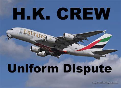 Emirates Flight Attendants Based In Hong Kong Oppose Wearing China   emirates flight attendants based in hong kong oppose