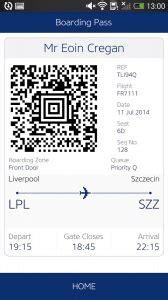 carta d imbarco mobile nuova app ryanair e carta d imbarco su cellulare