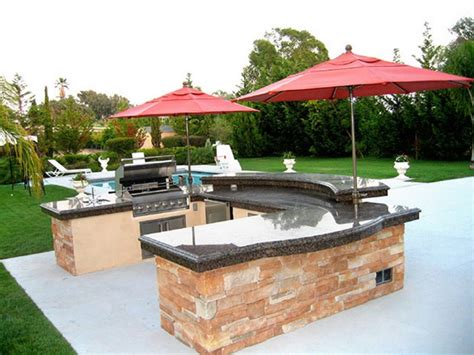 kitchen patio ideas 10 wonderful outdoor kitchen ideas recycled things