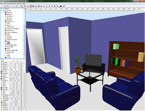 room designing software room drawing program home design