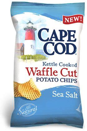 cape cod sea salt and cracked pepper chips cape cod waffle cut sea salt potato chips oz bags