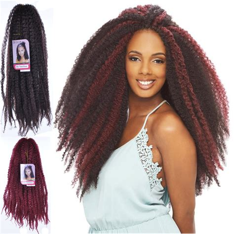 afro twist braid premium synthetic hairstyles for women over 50 18inch afro marley braid kanekalon hair extension kinky
