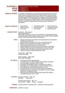 Cooks Resume by Cook Resume Sle Best Business Template