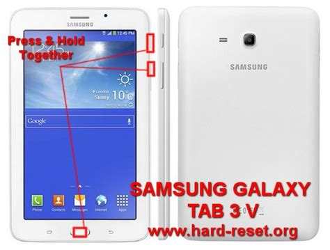 Second Samsung Galaxy Tab 3 V Sm T116nu how to easily reset samsung galaxy tab 3 v sm t116nu tab 3 lite ve sm t113 7 with