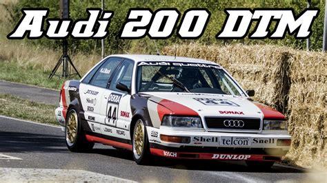 Audi V8 Dtm by Audi 200 V8 Dtm Induction Sound Schloss Dyck 2015