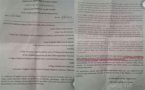 ufficio giudice di pace di napoli giudice di pace a rischio l opposizione a qualiano chiede