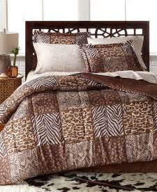 leopard safari wild cats animal print king comforter set