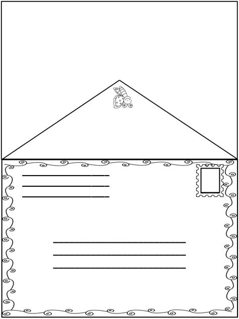 envelope template for apple pages friendly letter with envelope with the 5 parts of a
