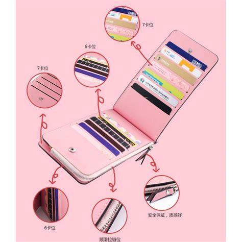 Dompet Panjang Pink dompet kartu model panjang pink jakartanotebook