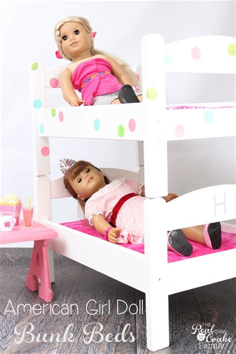 How To Make A American Doll Bed by Diy American Doll Bunk Beds