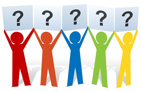 Clipart Of Person Asking A Question ClipartXtras