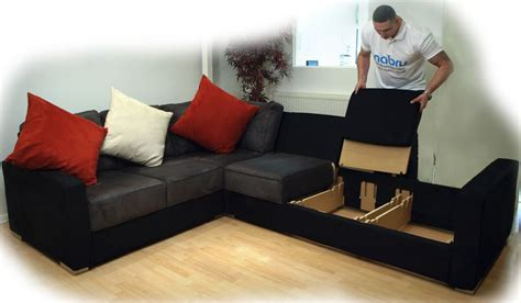 nabru sofa beds flat pack sofas for awkward access nabru