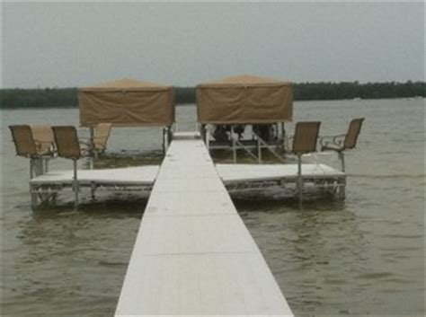 boat lifts quincy michigan starr roll in dock wheeled dock piers systems