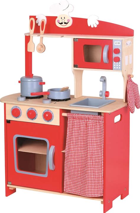 wooden kitchen lelin wooden wood childrens kids pretend play saffron