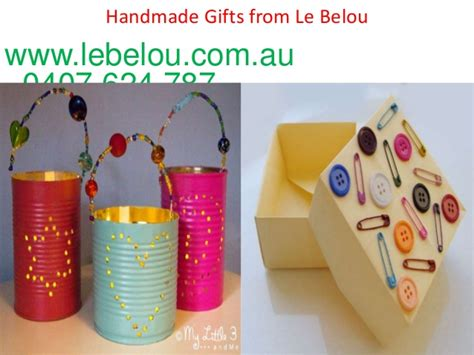 Handmade Gift Certificates - handmade gift cards for special occasions