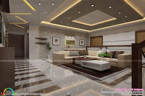 modern kerala living room interior kerala home
