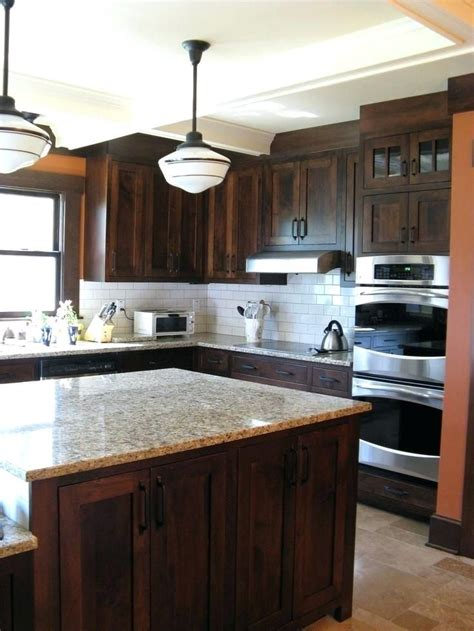 backsplash  dark cabinets  dark cabinets kitchen