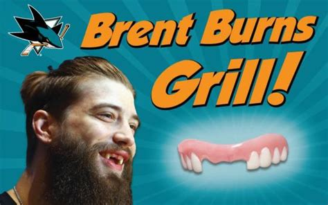 Sharks Giveaway - look brent burns grill giveaway announced by sharks the mercury news