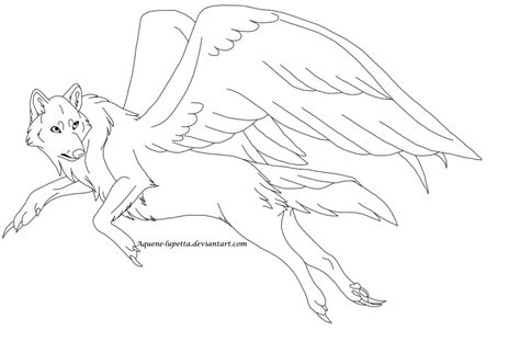 winged wolf coloring page wolf with wings coloring pages