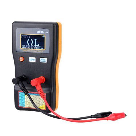 resistor tester circuit professional measuring capacitance resistance capacitor circuit tester free shipping dealextreme